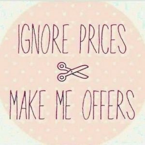🤩OFFERS ACCEPTED 🙊
